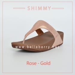 * NEW * FitFlop : Shimmy : Rose Gold : Size US 5 / EU 36