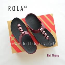 FitFlop : ROLA : Hot Cherry : Size US 6 / EU 37