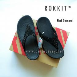 FitFlop : ROKKIT : Black Diamond : Size US 9 / EU 41