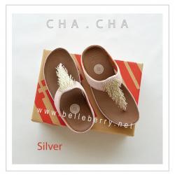 **พร้อมส่ง** FitFlop : CHA CHA : Silver : Size US 7 / EU 38