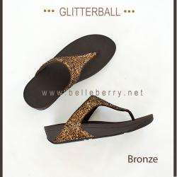 * NEW * FitFlop : GLITTERBALL : Bronze : Size US 8 / EU 39