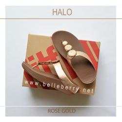 FitFlop : HALO : Rose Gold : Size US 9 / EU 41