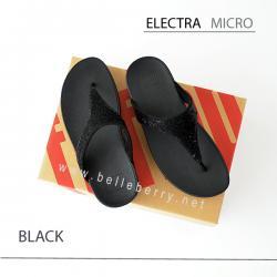 * NEW * FitFlop ELECTRA Micro : Black : Size US 6 / EU 37