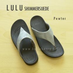 **พร้อมส่ง** FitFlop LULU Shimmersuede : Pewter : Size US 7 / EU 38