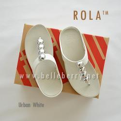 FitFlop : ROLA : Urban White : Size US 6 / EU 37