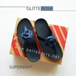 FitFlop GLITTEROSA : Supernavy : Size US 6 / EU 37