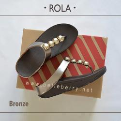 FitFlop : ROLA : Bronze : Size US 8 / EU 39