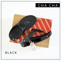 FitFlop Cha Cha : Black : Size US 7 / EU 38