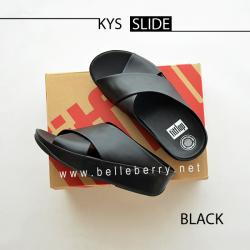 FitFlop : KYS Slide : All Black : Size US 9 / EU 41