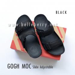 * NEW * FitFlop Men's : GOGH MOC Slide : Black : Size US 08 / EU 41