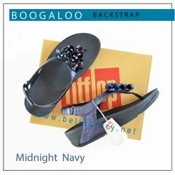 FitFlop : Boogaloo Back-Strap : Midnight Navy : Size US 5 / EU 36