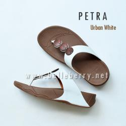 * NEW * FitFlop PETRA : Urban White : Size US 6 / EU 37