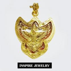 Inspire Jewelry จี้พญาครุฑวายุพักต์ปักษาพญาวิหกเทพผู้มีฤทธานุภาพยิ่งใหญ่ พร้อมเชือก1 เส้น 4x3cm. พระเครื่อง สุดยอดเครื่องรางมหาอำนาจ พญาครุฑ ครุฑ เครื่องรางความรัก เมตตา มหานิยม มหาเสน่ห์ มั่งคั่งร่ำรวย โชคลาภค้าขาย เครื่องรางความรัก