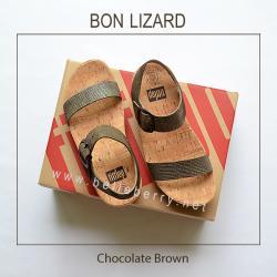 * NEW * FitFlop BON LIZARD : Chocolate Brown : Size US 7 / EU 38