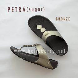 ** NEW ** FitFlop : PETRA (Sugar) : Bronze : Size US 7 / EU 38