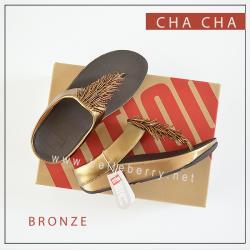 FitFlop CHA CHA : Bronze : Size US 8 / EU 39