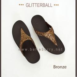 * NEW * FitFlop : GLITTERBALL : Bronze : Size US 6 / EU 37