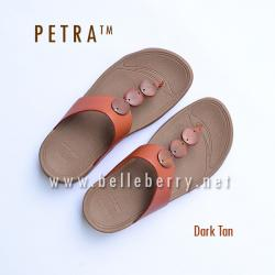 * NEW * FitFlop PETRA : Dark Tan : Size US 7 / EU 38