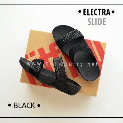 FitFlop Electra Slide : Black : Size US 9 / EU 41