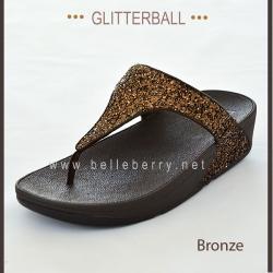 * NEW * FitFlop : GLITTERBALL : Bronze : Size US 7 / EU 38