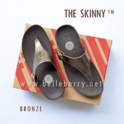 FitFlop The Skinny : Bronze : Size US 6 / EU 37
