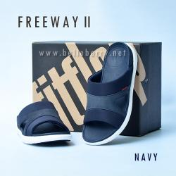 **พร้อมส่ง** FitFlop FREEWAY II : Navy : Size US 8 / EU 41