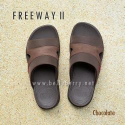 **พร้อมส่ง** FitFlop FREEWAY II : Chocolate : Size US 10 / EU 43