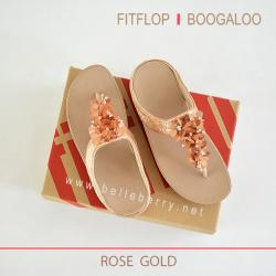 FitFlop : BOOGALOO : Rose Gold : Size US 7 / EU 38