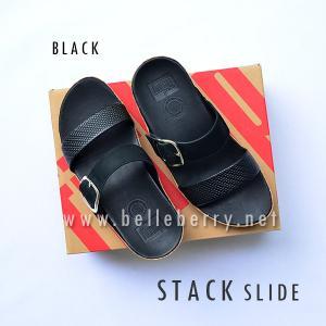 **พร้อมส่ง** FitFlop Stack Slide : Black : Size US 8 / EU 39