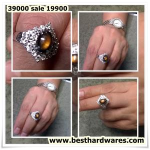 แหวนเพชรหลุดจำนำ สภาพ 99%