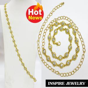 Inspire Jewelry ชุดสังวาลย์ หรือทำเป็นเข็มขัดก็ได้ ลายตามที่โชว์ ลายโบราณ อนุรักษ์ไทย สวยงามมาก ปราณีต ใส่กับเสื้อผ้าไทย ชุดไทย ผ้าสไบ หรือใส่ประดับ ผ้าซิ่น ผ้าถุง ผ้าไหม ตามรอยละครบุพเพสันนิวาส หนึ่งด้าว แม่การะเกตุ แม่แมงเม่า