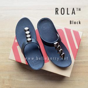รองเท้า FitFlop : ROLA : Black : Size US 9 / EU 41