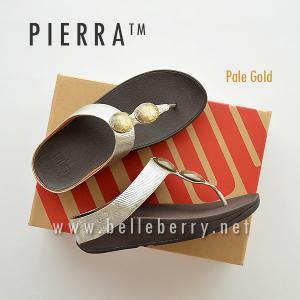 * NEW * FitFlop Pierra : Pale Gold : Size US 9 / EU 41