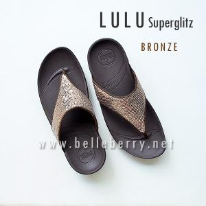 **พร้อมส่ง** FitFlop LULU Superglitz : Bronze : Size US 6 / EU 37