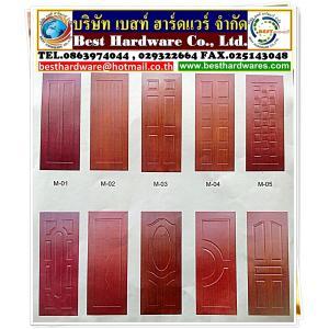 รับผลิต ประตูเมลามีน (melamine door) ใช้สำหรับภายใน ทำสีแล้ว ขนาด 80 คูณ 200 ขนาด 90 คูณ 200 ราคาถูก ราคาขายส่ง ราคาโรงงาน