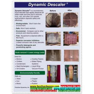 Dynamic Descalerล้างตะกรันออกจากอุปกรณ์แลกเปลี่ยนความร้อน เช่น แอร์ 1ลิตร ส่งฟรี EMS