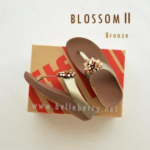 * NEW * FitFlop Blossom II : Bronze : Size US 8 / EU 39
