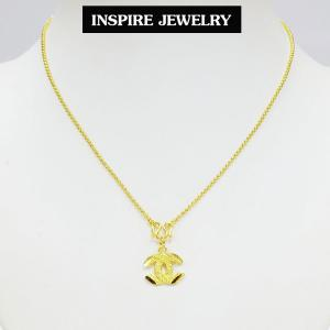 Inspire Jewelry สร้อยคอพร้อมจี้ และถุงกำมะหยี่