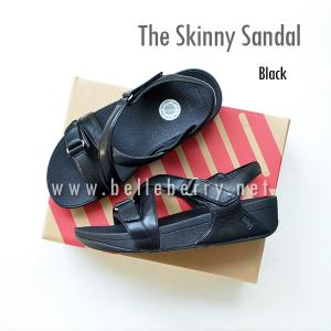 * NEW * FitFlop The Skinny Sandal : Black : Size US 6 / EU 37