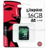 "SD Card 16GB ""Kingston"" (SD10V, Class 10)"
