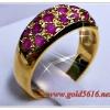 แหวนพลอยทับทิม