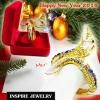 Inspire Jewelry กำไลพญานาคนพเก้า ชุบทอง ลงยา สรีระสวยงามปานมีชีวิต เครื่องประดับมงคล สำหรับของขวัญ ของฝาก ปีใหม่่2018 วันเกิด พิธีมงคล