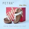 **พร้อมส่ง** New !! PETRA : Urban White : Size US 6 / EU 37