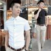 เสื้อผ้าผู้ชาย   เสื้อเชิ้ตผู้ชาย เสื้อเชิ้ตแฟชั่นชาย แขนสั้น แฟชั่นเกาหลี