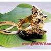 แหวนพระพิฒฆเนศ gold plated 0.5Microns
