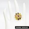 Inspire Jewelry ,แหวนพลอยแบบต่างๆ มีให้เลือกหลายแบบ ตัวเรือน หุ้มทองแท้ 100% 24K สวยหรู พร้อมถุงกำมะหยี่