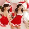 ชุดคริสมาสต์ซาตาริน่า ชุดซานตี้พร้อมส่ง