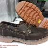 รองเท้าหนัง Caterpillar หนังแท้100% size 39-44 (สีน้ำตาลเข้ม)