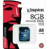 "SD Card 8GB ""Kingston"" (SD10G2, Class 10)"