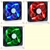"FAN for Case 12cm. (Black) ""Cooler Master"" LED"